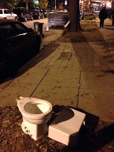 Street toilet