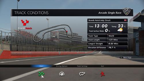 Gran Turismo 6 - Mode Arcade