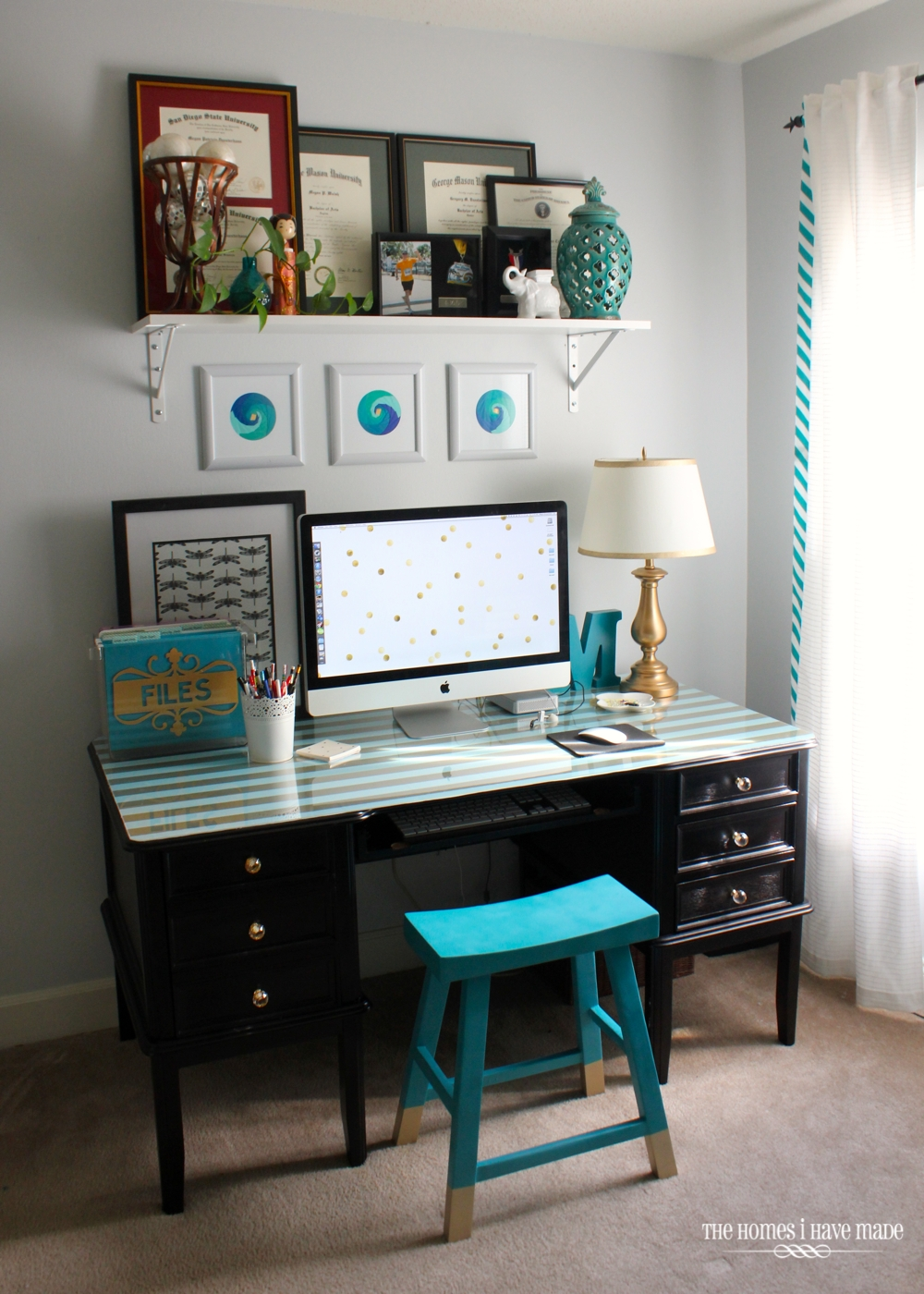 Office Desk Makeover-017
