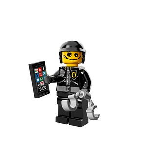 LEGO The Movie 71004 - Collectible Minifigures - Scribbe-Face Bad Cop