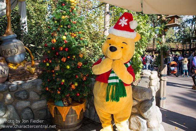 Disneyland Dec 2012 - Meeting Winnie the Pooh