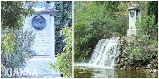 Monument to the Duke of Osuna in parque del capricho, Madrid