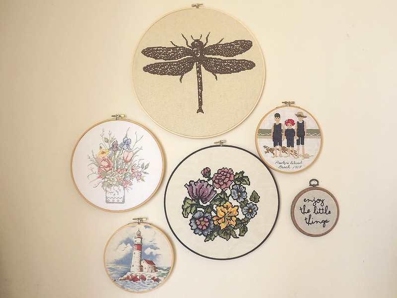 Cross Stitch Wall