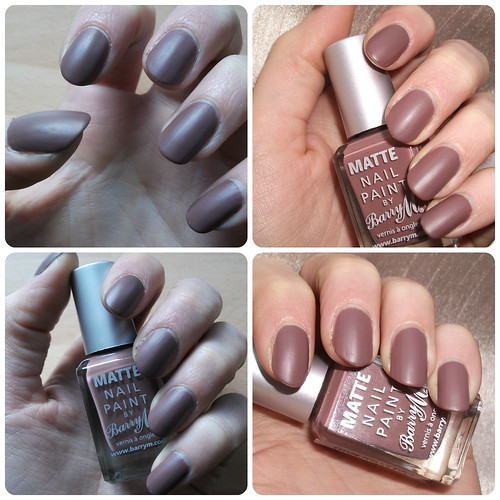 NOTD Barry M Matte Nail Paint Mocha