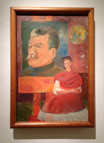 Mexico City Museo Frida Kahlo Frida & Stalin
