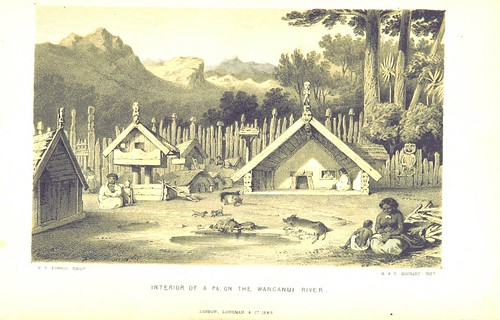 Image taken from:  Title: Sketches in New Zealand...