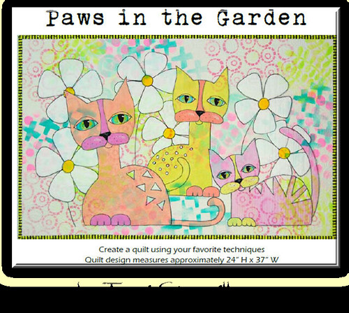 paws in the garden by terri stegmiller