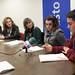 26/11/2013 - Estudiantes erandioztarras dan a conocer el Programa Bultzatzen en el marco de la Conferencia Anual de Eurochild celebrada en Milán
