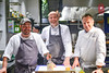 Sean Brock, Michael Tusk, and Frank Stitt
