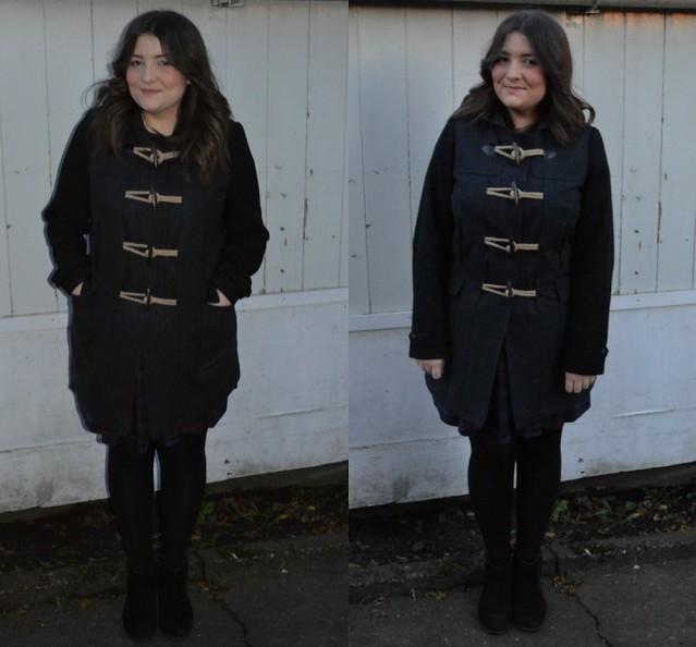 f&f duffle coat