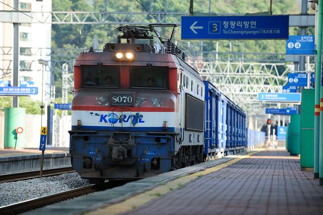 코레일 - 전기 기관차 8070호
