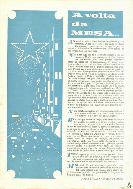 Banquete, Nº 11, Janeiro 1961 - 4
