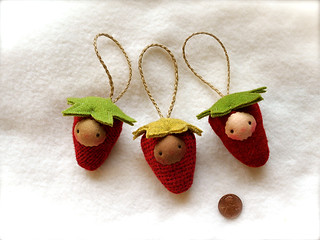 Berry Ornament set #2