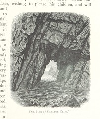 """British Library digitised image from page 219 of """"Scottish Pictures, drawn with pen and pencil, etc"""""""