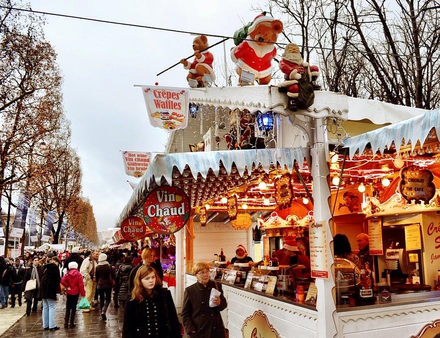 trocadero market paris christmas