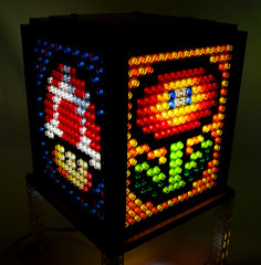 Mosaic LEGO Super Mario Bros. Lamp