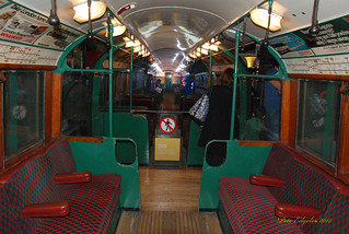1938 London Underground Electric Tube Stock Driving Motor Car (Interior)