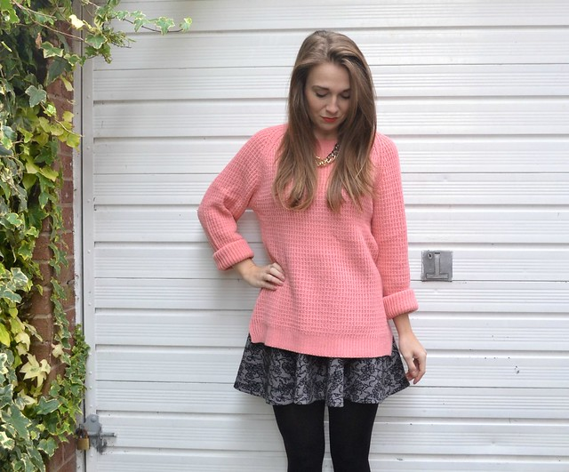 pink jumper and skirt 3
