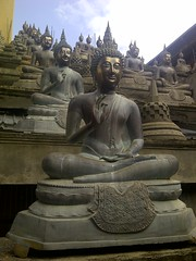 Buddha statues - Gangaramaya Temple