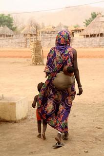 Centro de Nutrición en Malí