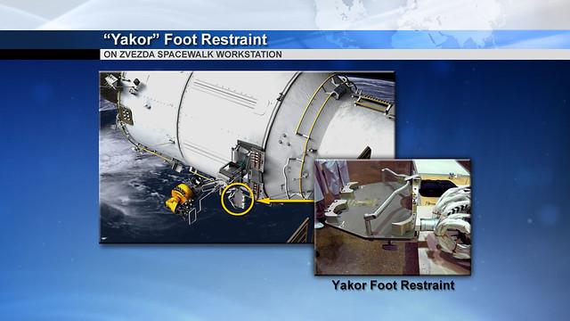 "02 ""Yakor"" foot restraint"
