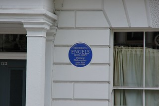 Friedrich Engels 的形象.