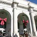Outside Union Station, D.C.