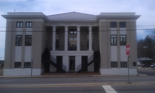 Coosa County Courthouse- Rockford AL