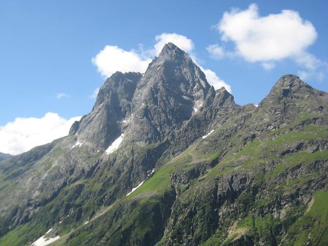 Gipfelregion des Patteriol (3056 m)