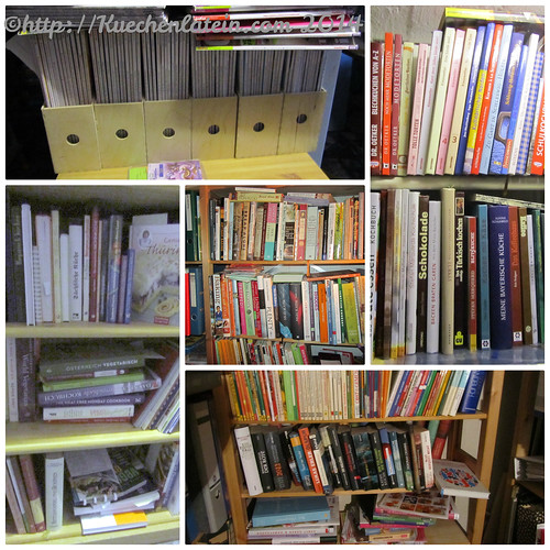 Blogparade Kochbücher Meine Kochbuchbibliothek