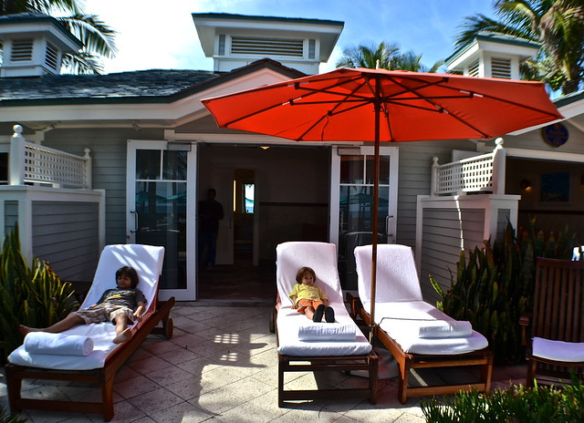 The Breakers Hotel, Palm Beach, Florida - The Beach Club - beach bungalow