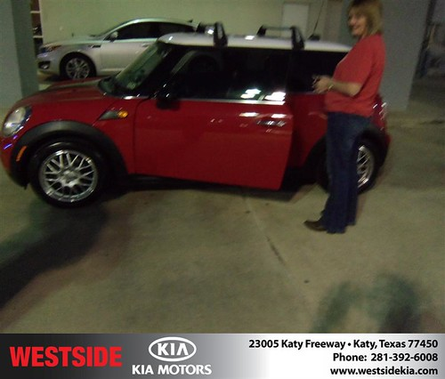 Happy Anniversary to Brian Croll on your 2008 #Mini Cooper #Mini Cooper from everyone at Westside Kia! #Anniversary by Westside KIA