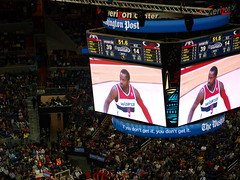 sport venue, sports, basketball moves, scoreboard, audience, stadium, basketball, arena, athlete,