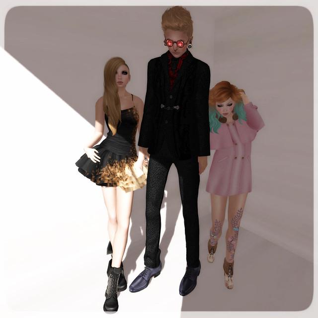 Violet, Kat and I