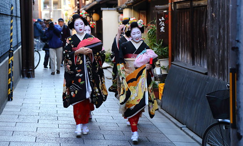 2014 新春京都紀行 祇園甲部 始業式 その1      New Year Days in Kyoto ---  New Year Ceremony of Gionkobu