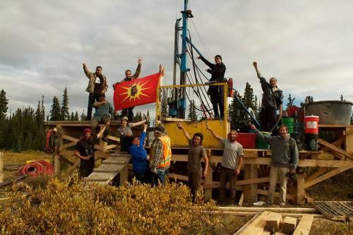Members of Tahltan Nation
