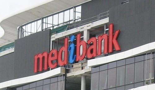 Signage Medibank Docklands