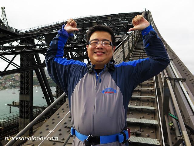 sydney harbour bridge climb placesandfoods arch