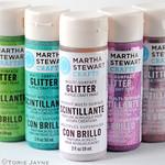 Glitter acrylic paint