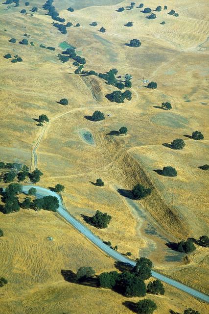 Sag ponds along the San Andreas Fault, San Benito County, California