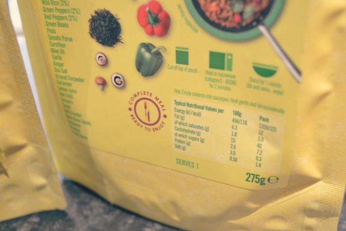 ilumi ingredients labelling