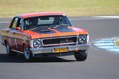 auto racing, automobile, automotive exterior, racing, family car, vehicle, stock car racing, ford xy falcon gt, antique car, sedan, classic car, land vehicle, muscle car,