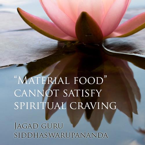 Jagad Guru Siddhaswarupananda - Spiritual Craving