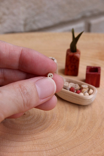 4mm wood button