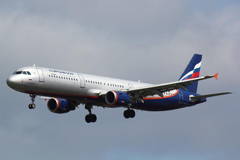 Aeroflot - A321 - VP-BWN (1)