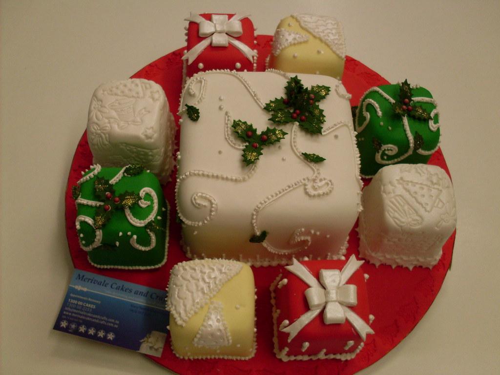 Christmas Cakes   Celebration Cakes Toowoomba   Wedding Cakes