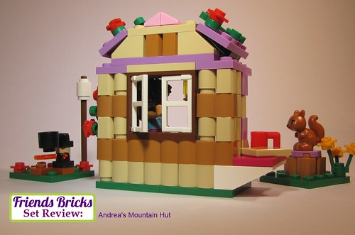Andrea's Mountain Hut Review #41031 - Back of Hut