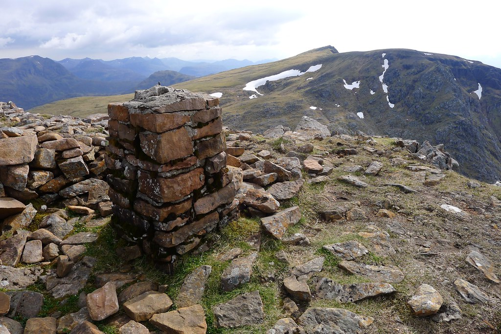 Summit of Ruadh Stac Mor