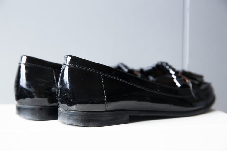 Topshop MURILO Patent Loafers
