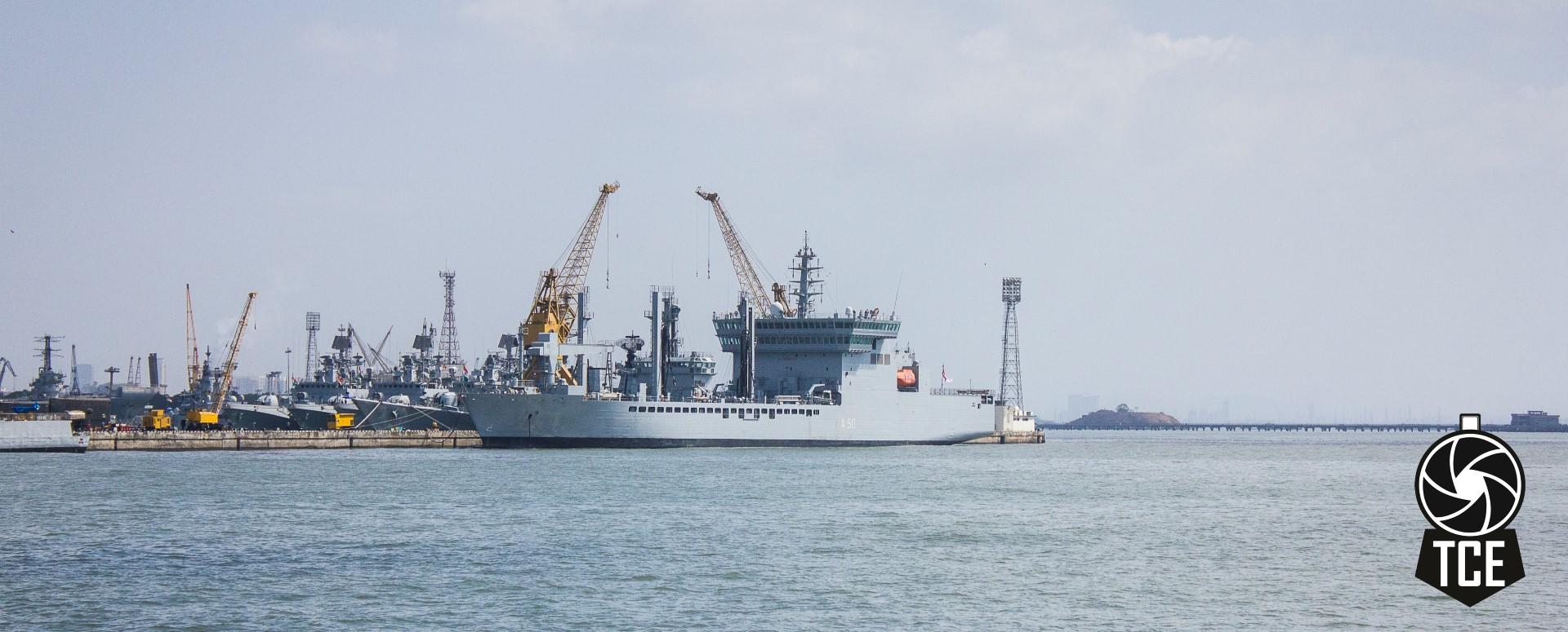 A Naval Ship
